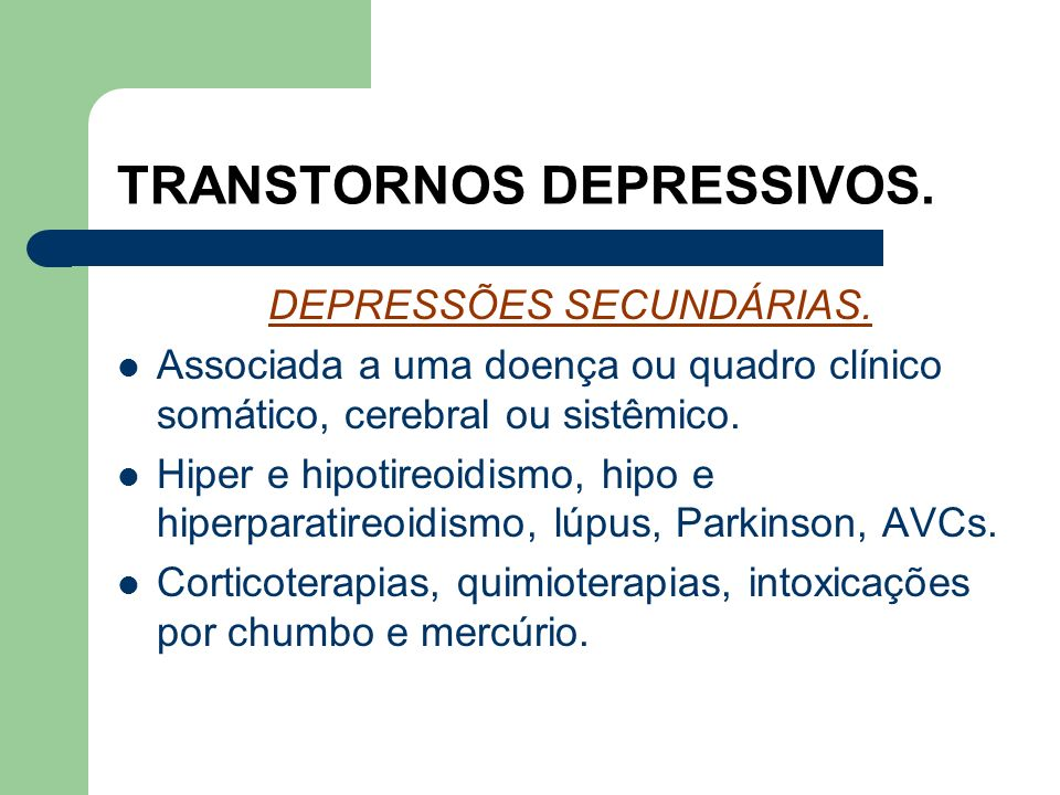 TRANSTORNOS DEPRESSIVOS.