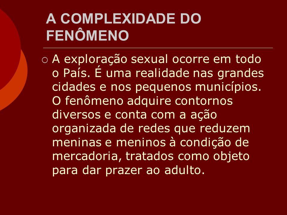 A COMPLEXIDADE DO FENÔMENO