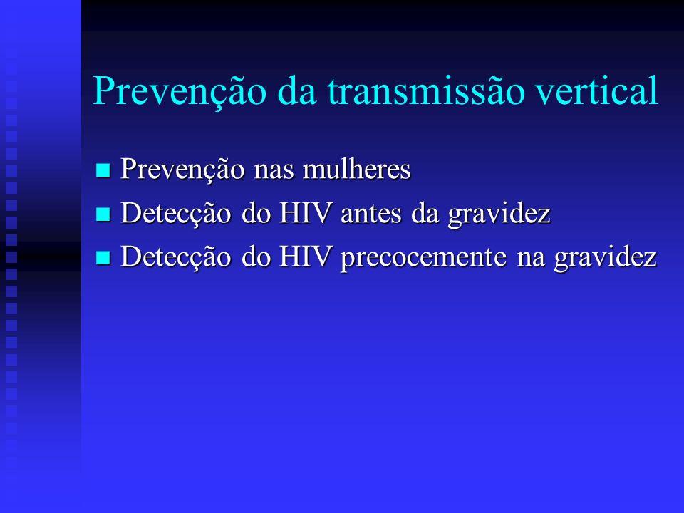 Prevenção da transmissão vertical
