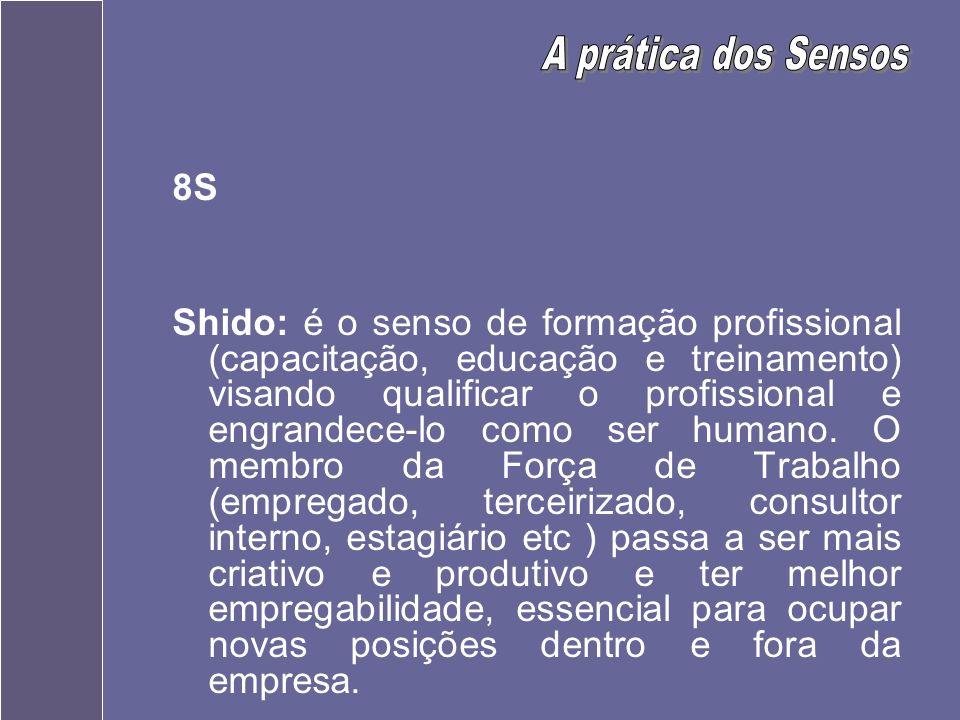 A prática dos Sensos 8S.