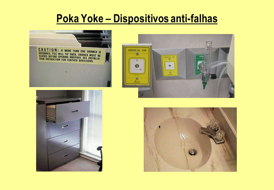 Poka Yoke – Dispositivos anti-falhas