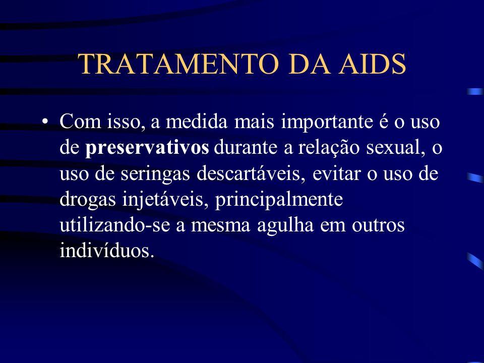 TRATAMENTO DA AIDS