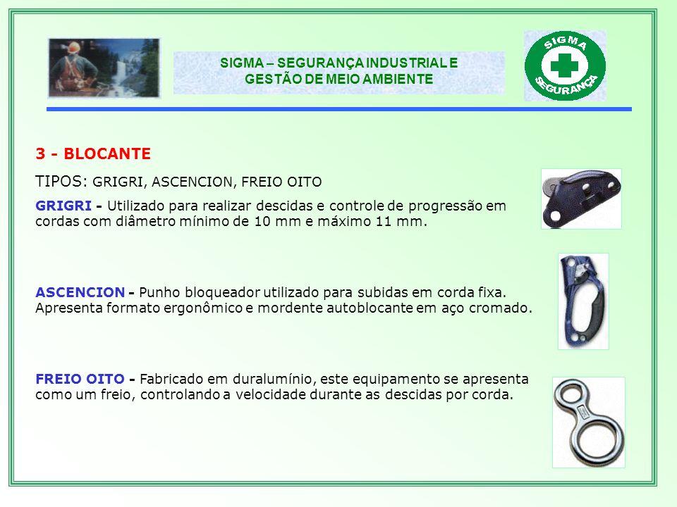 TIPOS: GRIGRI, ASCENCION, FREIO OITO