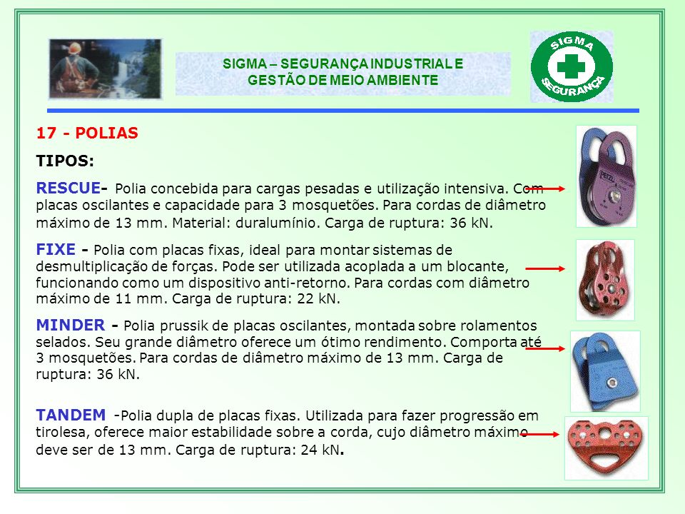 17 - POLIAS TIPOS: