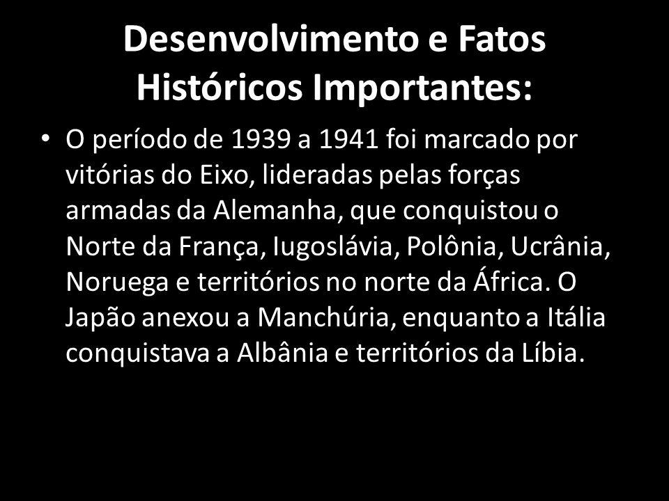 Desenvolvimento e Fatos Históricos Importantes: