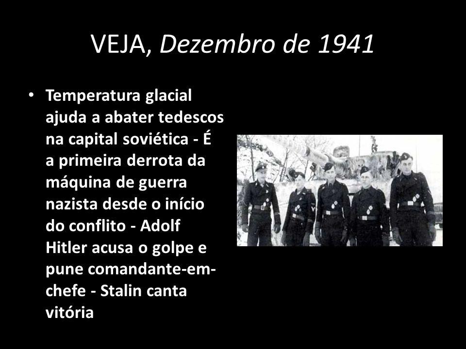 VEJA, Dezembro de 1941