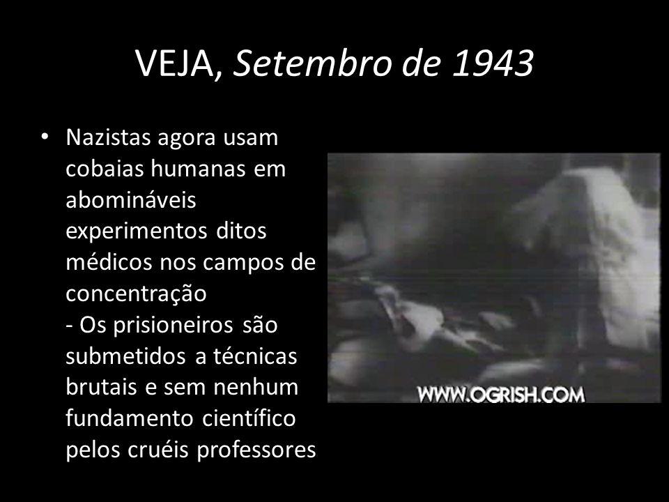 VEJA, Setembro de 1943