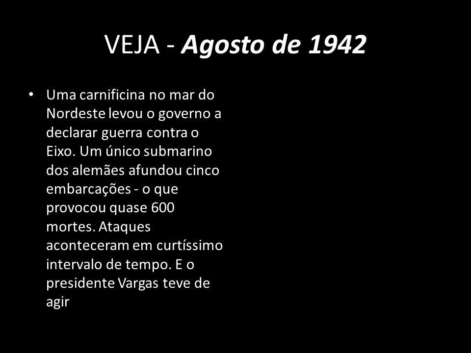 VEJA - Agosto de 1942
