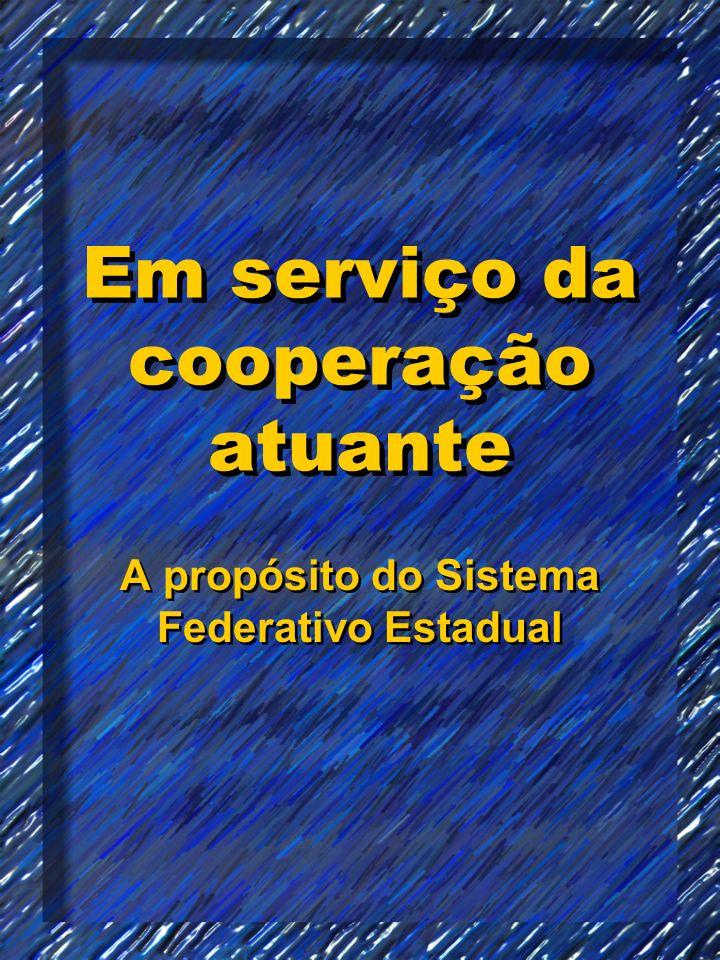 Em serviço da cooperação atuante