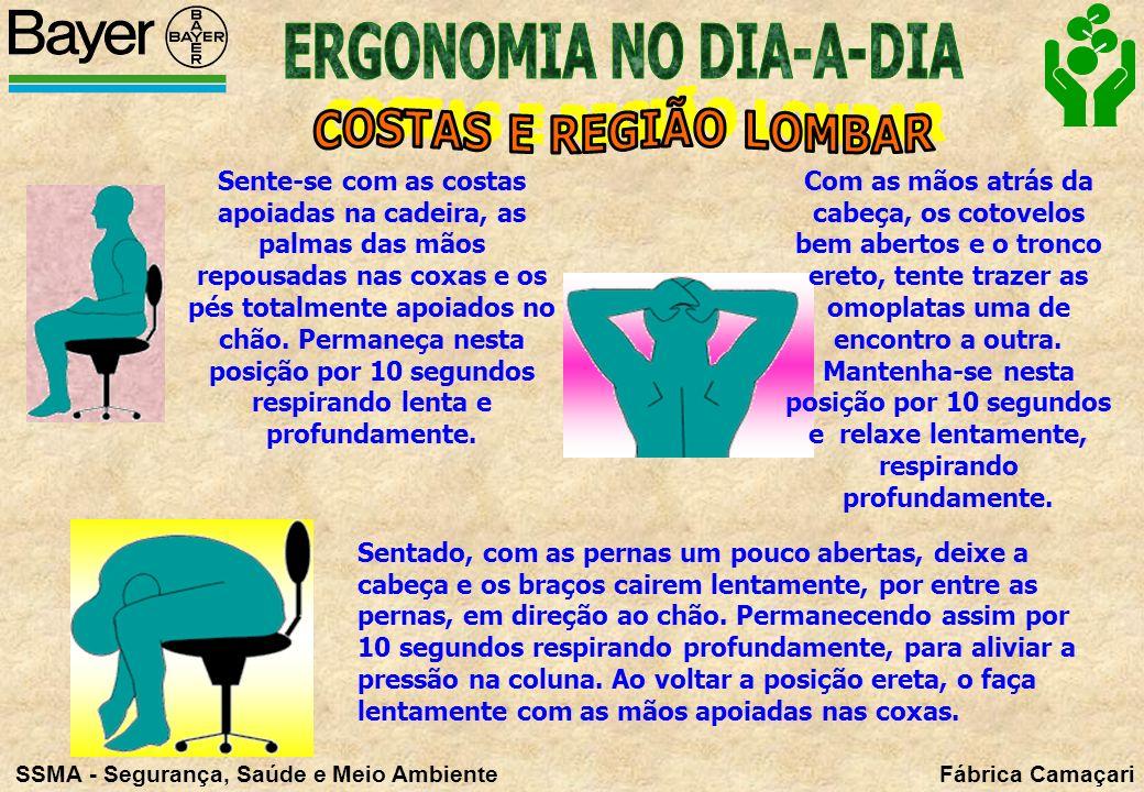 ERGONOMIA NO DIA-A-DIA