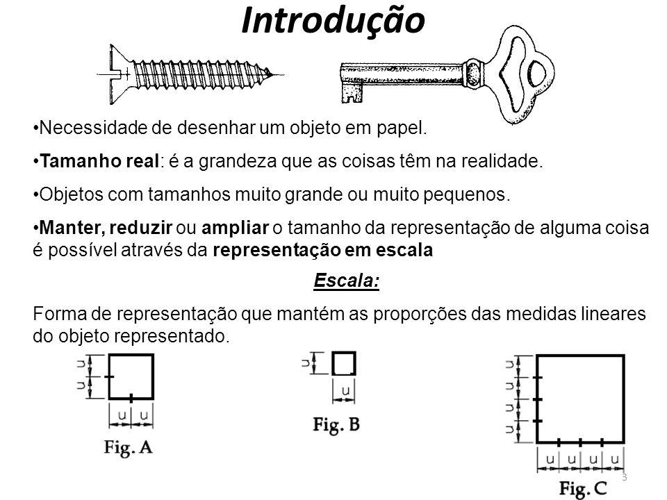 Introdução Necessidade de desenhar um objeto em papel.