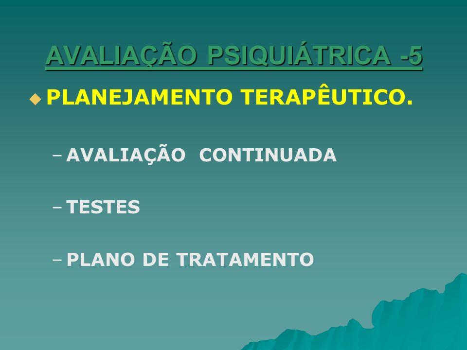 AVALIAÇÃO PSIQUIÁTRICA -5
