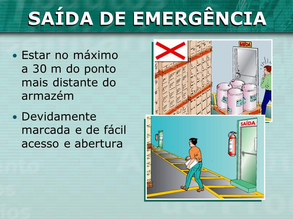 SAÍDA DE EMERGÊNCIA SAÍDA DE EMERGÊNCIA