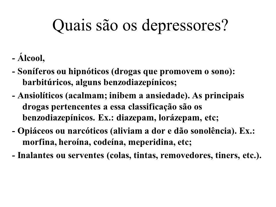 Quais são os depressores