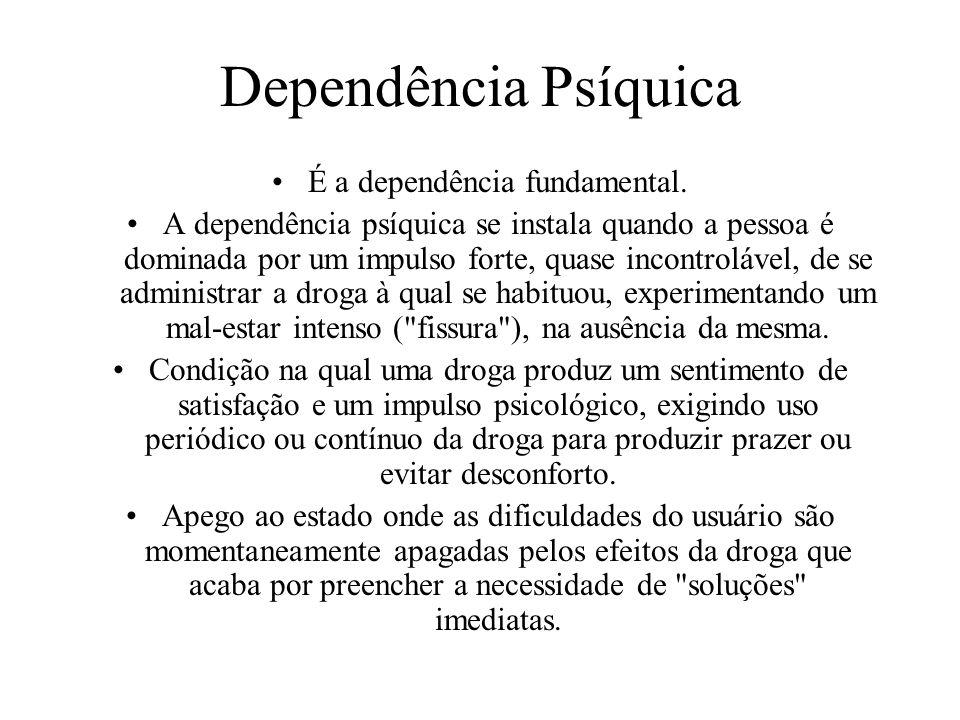 É a dependência fundamental.