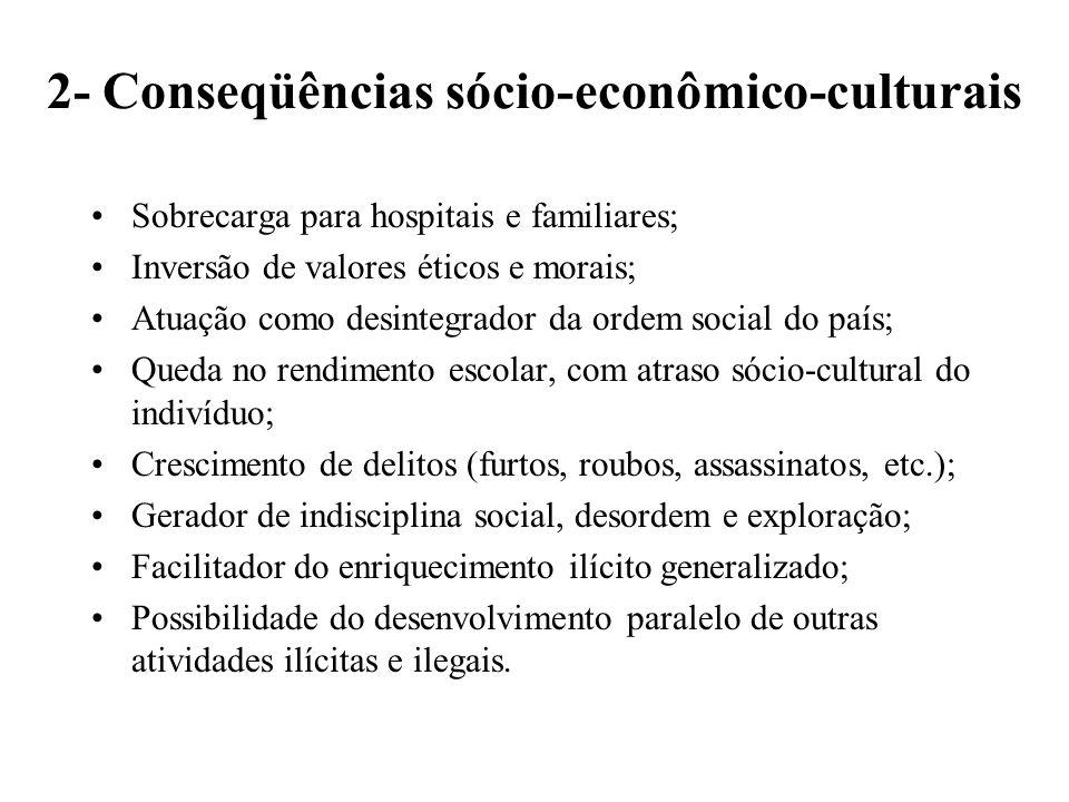 2- Conseqüências sócio-econômico-culturais