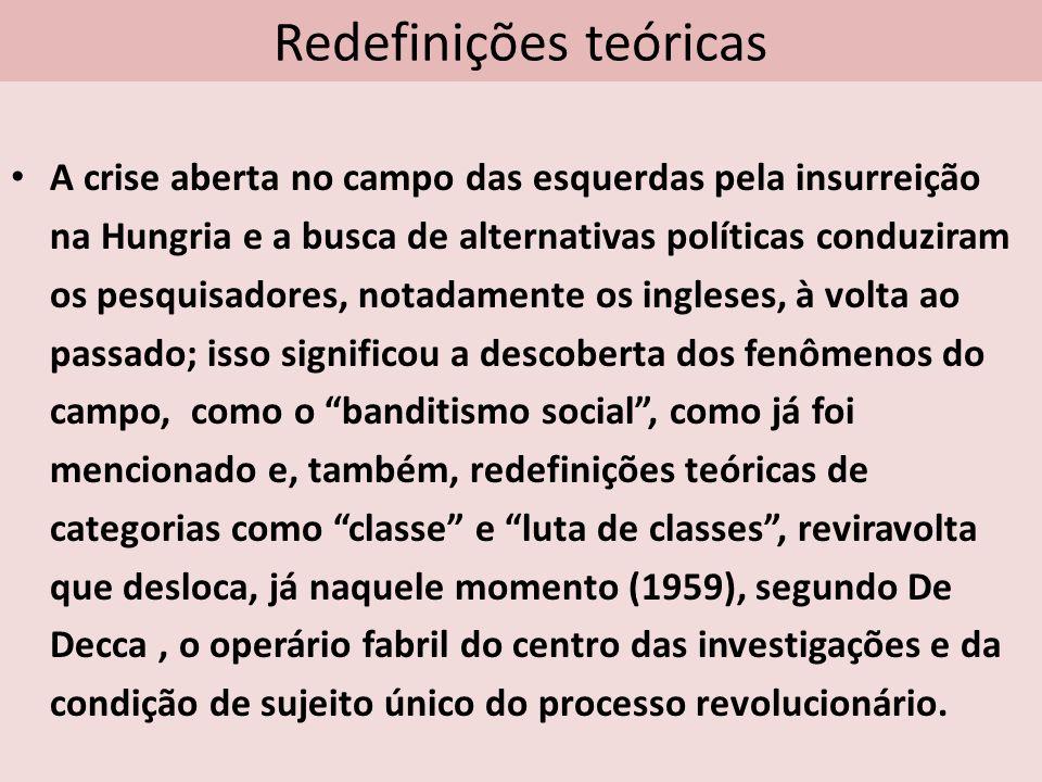 Redefinições teóricas