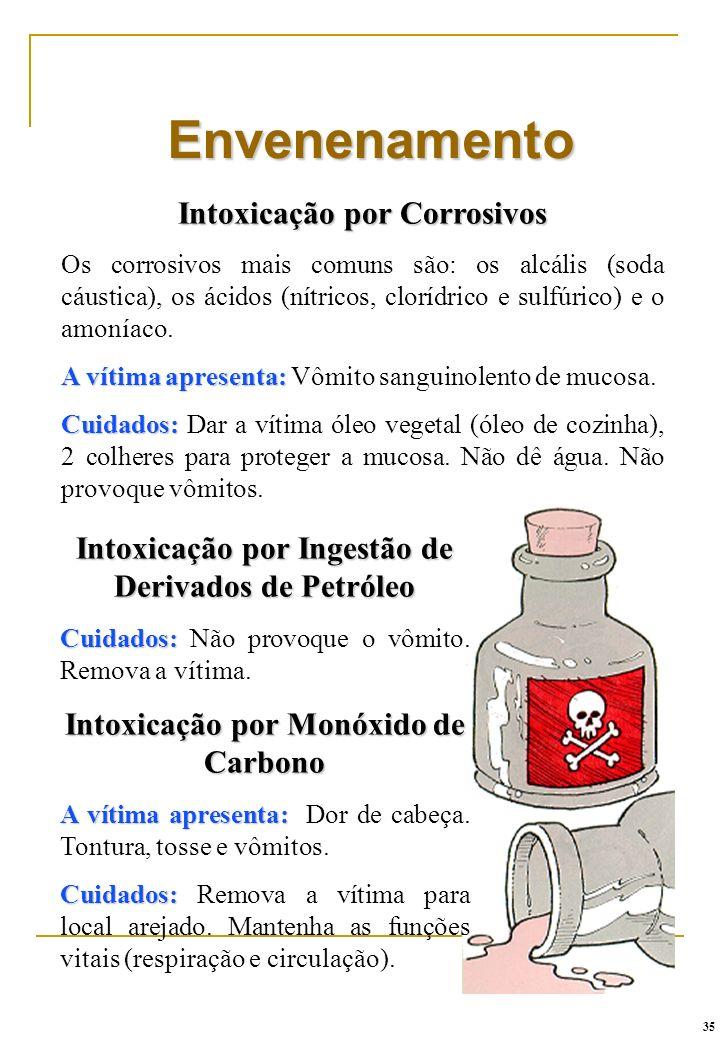 Envenenamento Intoxicação por Corrosivos