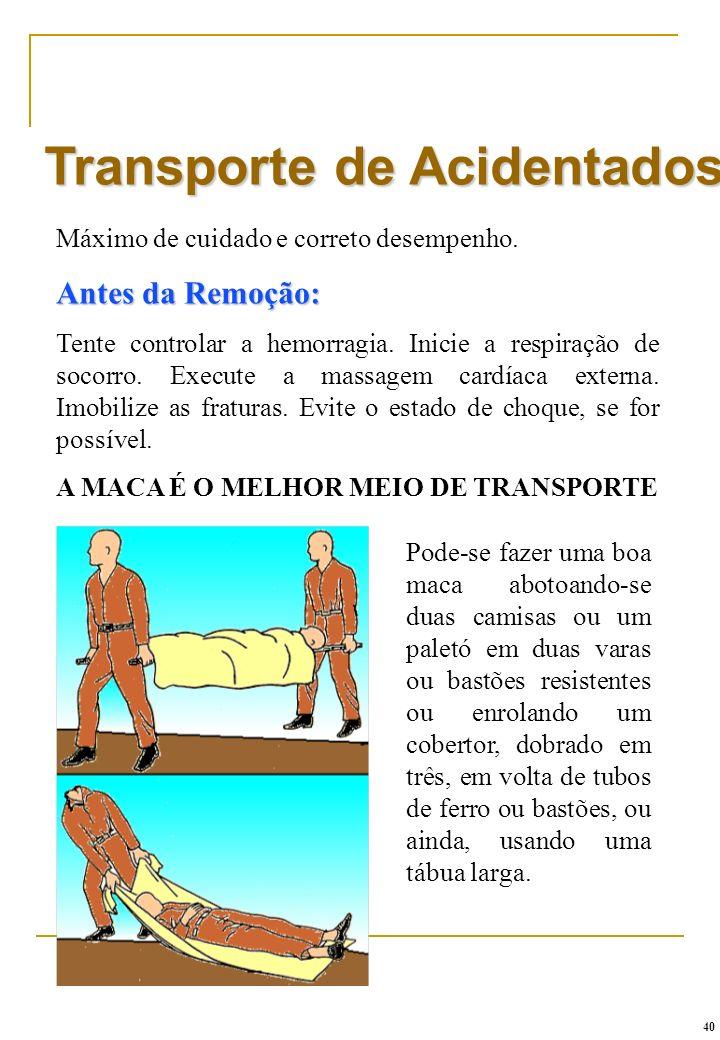 A MACA É O MELHOR MEIO DE TRANSPORTE