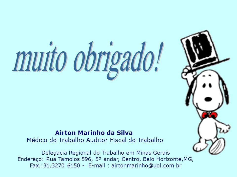 muito obrigado! Airton Marinho da Silva