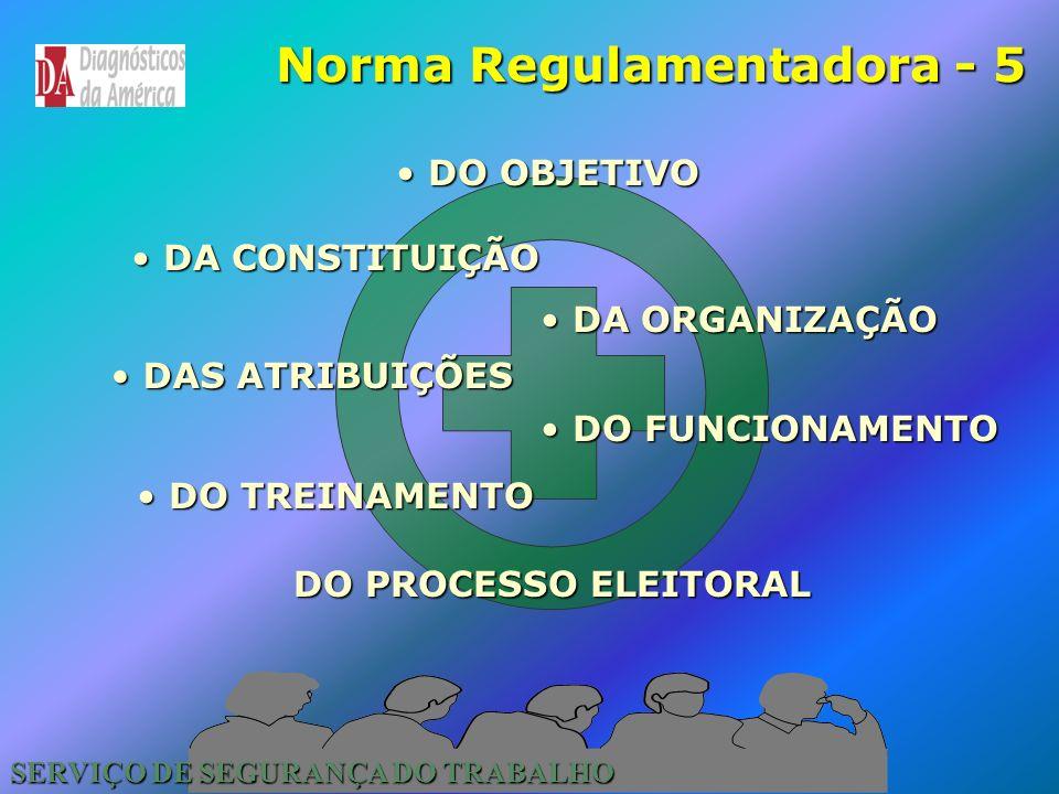 SERVIÇO DE SEGURANÇA DO TRABALHO