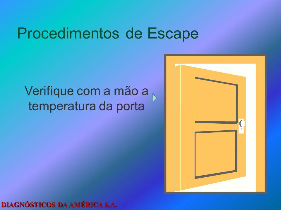 Procedimentos de Escape