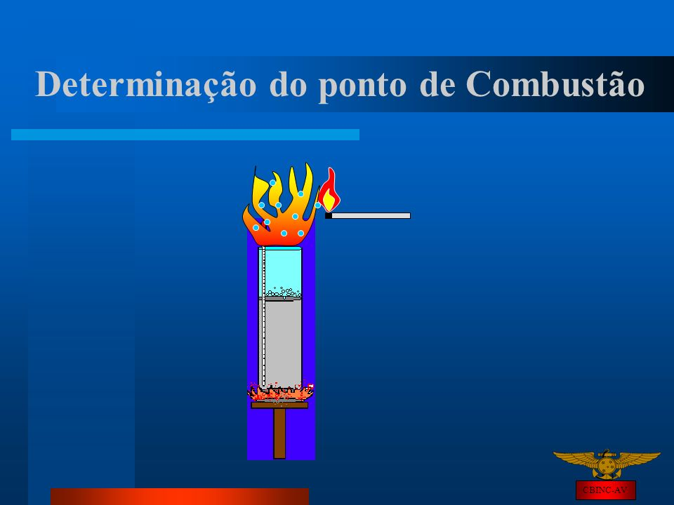 Determinação do ponto de Combustão
