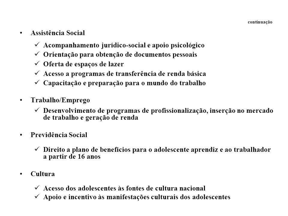 Acompanhamento jurídico-social e apoio psicológico