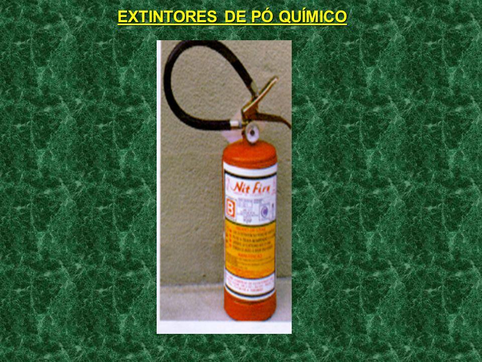 EXTINTORES DE PÓ QUÍMICO