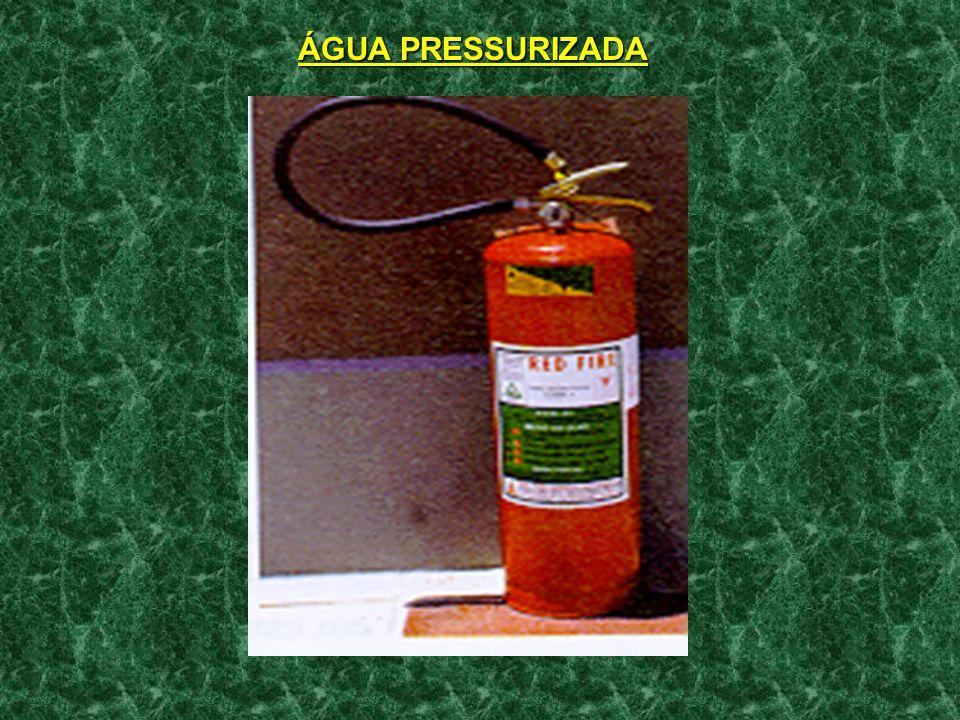 ÁGUA PRESSURIZADA