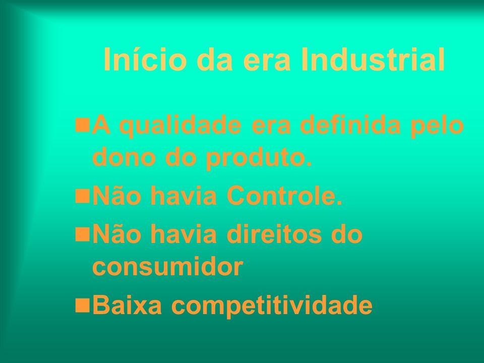 Início da era Industrial