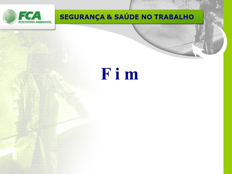 SEGURANÇA & SAÚDE NO TRABALHO