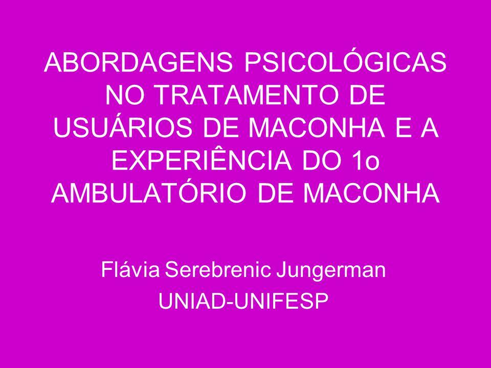 Flávia Serebrenic Jungerman UNIAD-UNIFESP