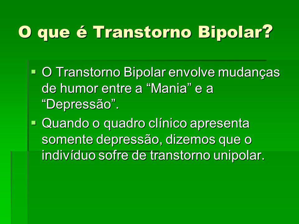 O que é Transtorno Bipolar
