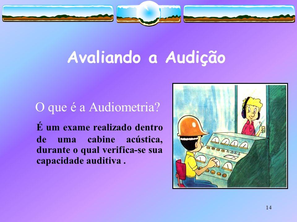 Avaliando a Audição O que é a Audiometria.