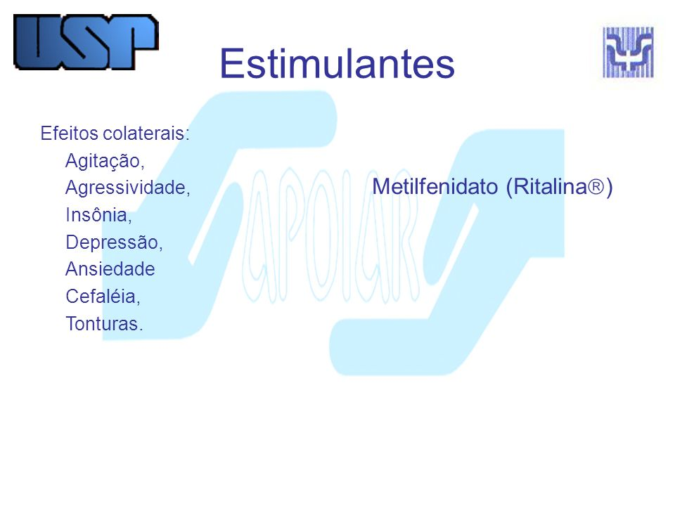 Metilfenidato (Ritalina)