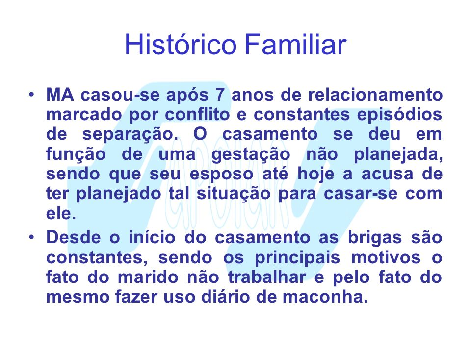 Histórico Familiar