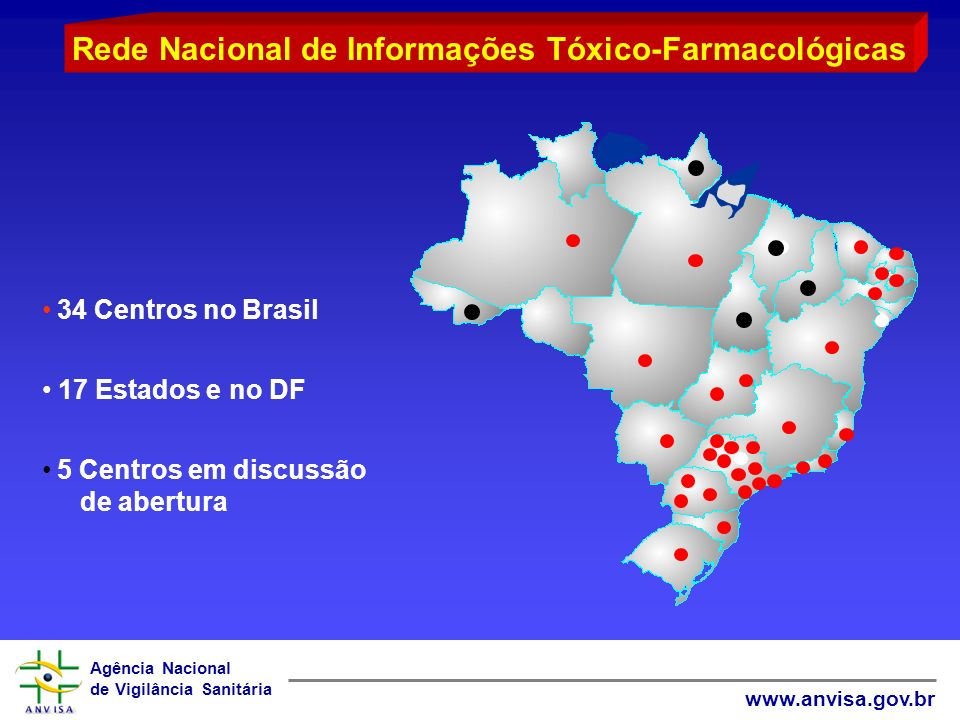 Rede Nacional de Informações Tóxico-Farmacológicas