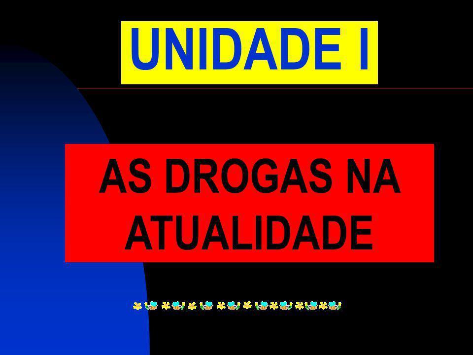 AS DROGAS NA ATUALIDADE