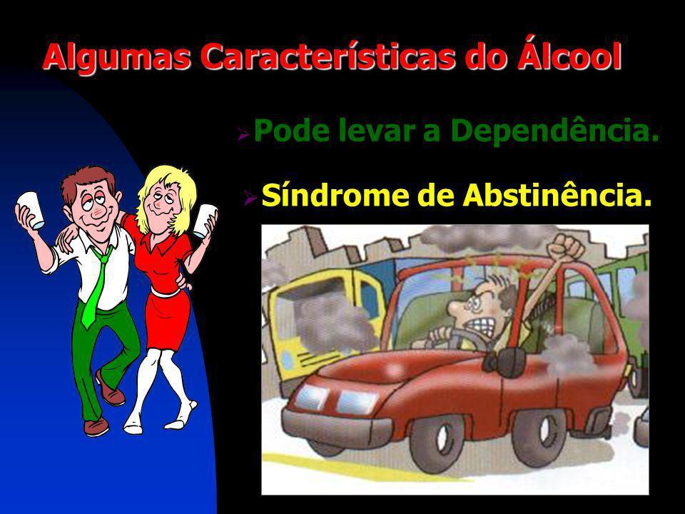 Algumas Características do Álcool