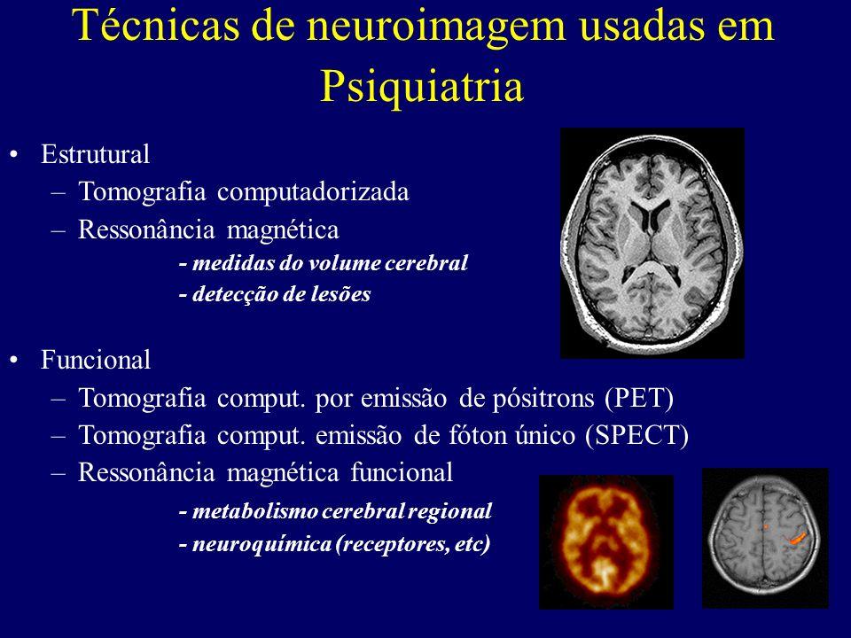 Técnicas de neuroimagem usadas em Psiquiatria