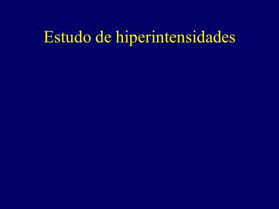 Estudo de hiperintensidades