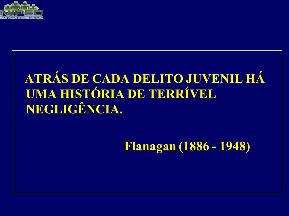 ATRÁS DE CADA DELITO JUVENIL HÁ UMA HISTÓRIA DE TERRÍVEL NEGLIGÊNCIA.