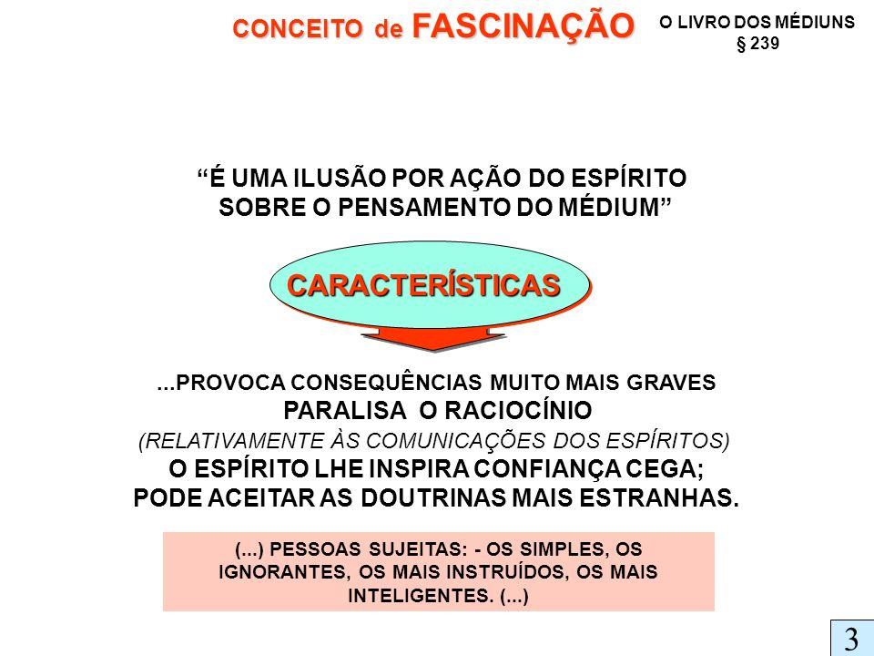 3 CARACTERÍSTICAS CONCEITO de FASCINAÇÃO
