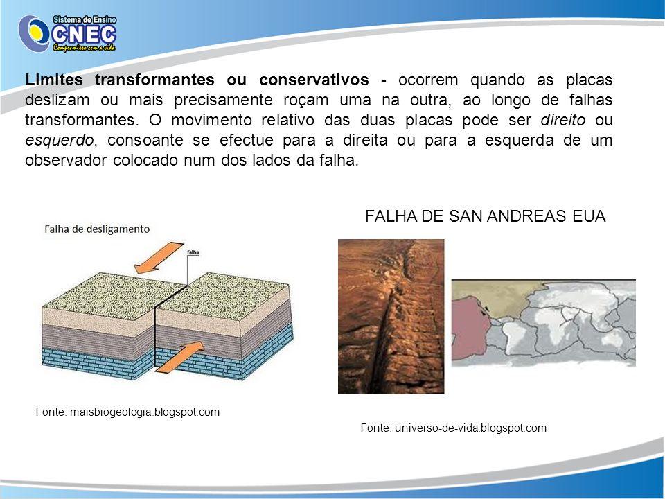 FALHA DE SAN ANDREAS EUA