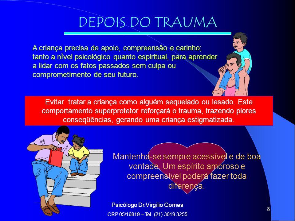 Psicólogo Dr.Virgilio Gomes