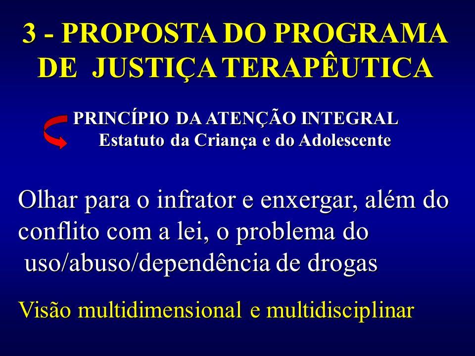 3 - PROPOSTA DO PROGRAMA DE JUSTIÇA TERAPÊUTICA