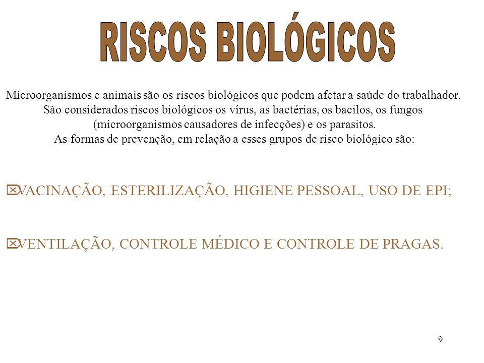 (microorganismos causadores de infecções) e os parasitos.