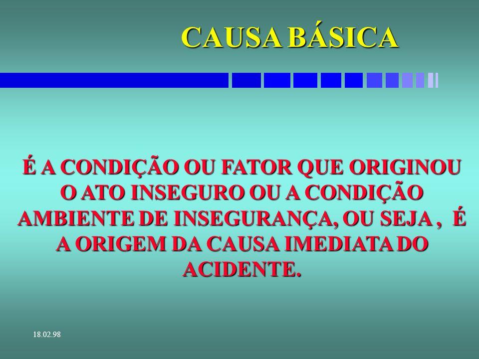 CAUSA BÁSICA