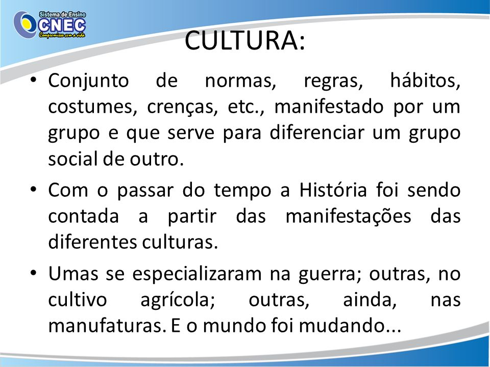 CULTURA: